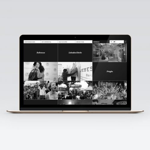 029 zerotwonine - Website-Design - Portfolio