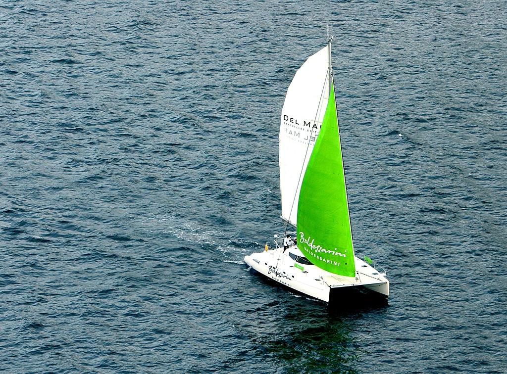 Baldessarini Del Mar - Catamaran Branding