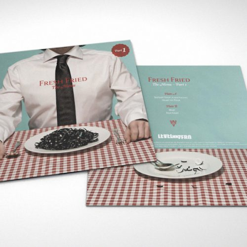Fresh Fried - The Menu - Vinyl-Packaging