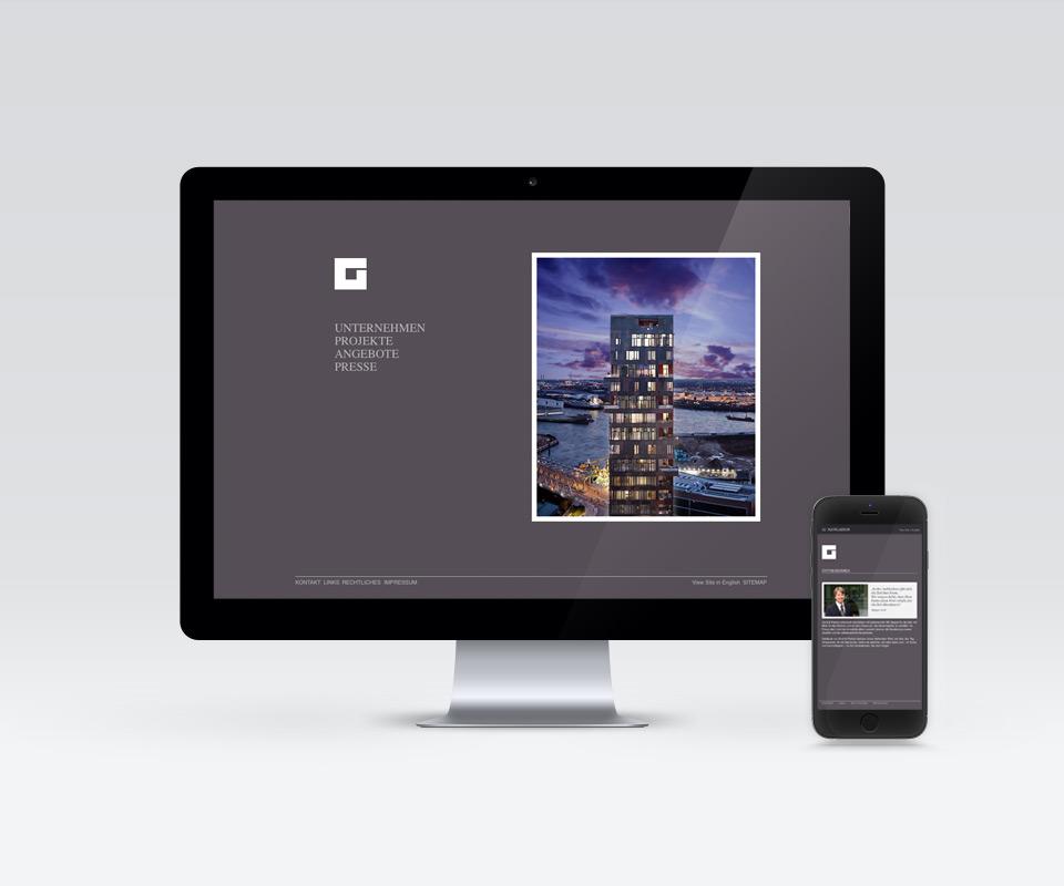Groß & Partner - Webseite - Gestaltung