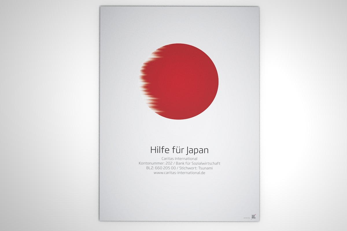 Hilfe für Japan - Poster-Serie