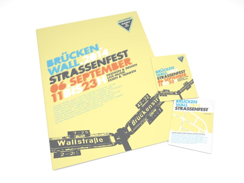 BrückenWall 2014 - Poster und Flyer