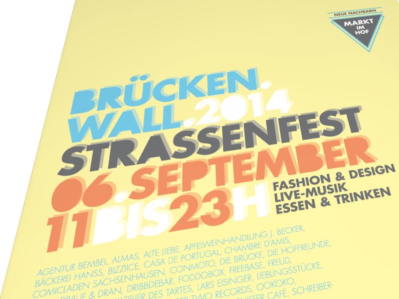 BrückenWall 2014 - Poster