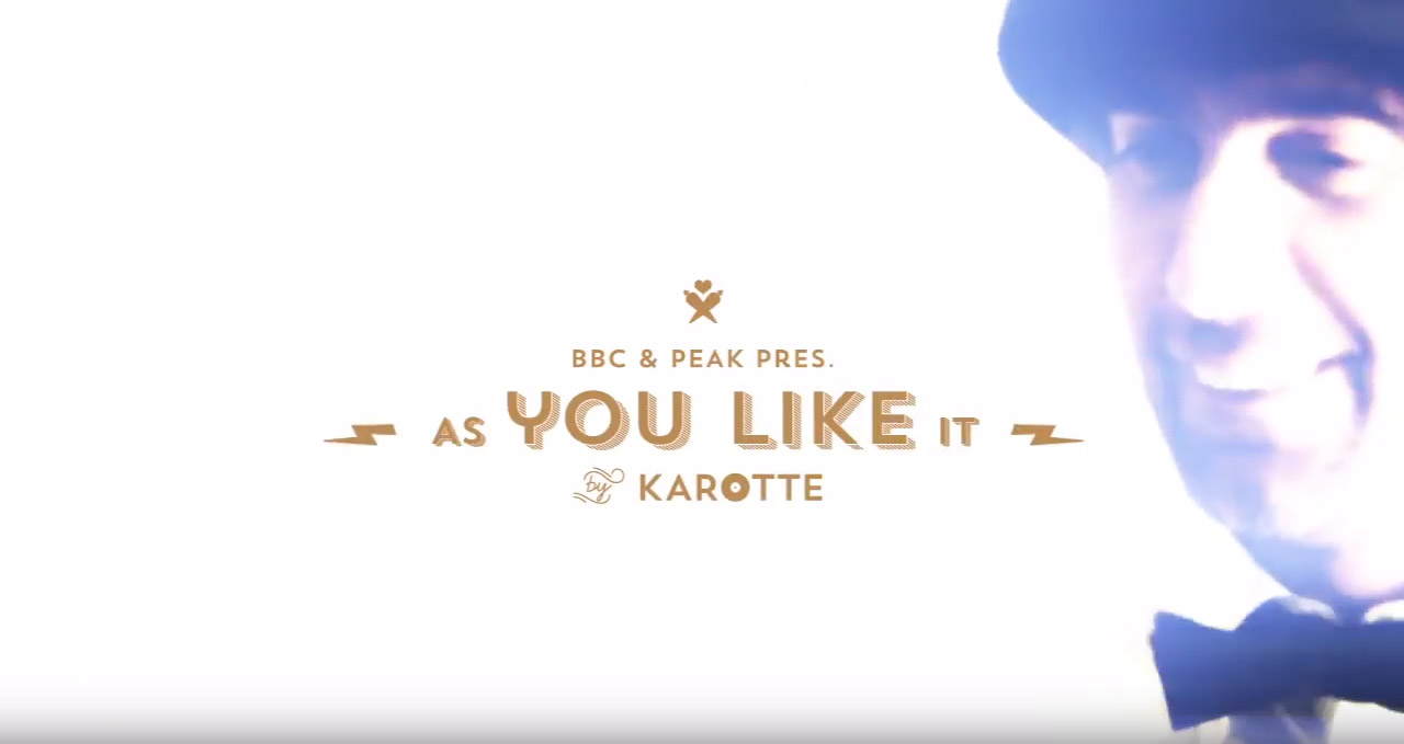 AS YOU LIKE IT by Karotte - Video Grammophon