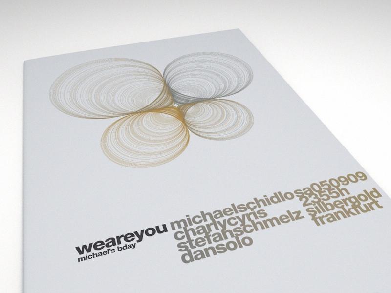 weareyou - Event-Poster