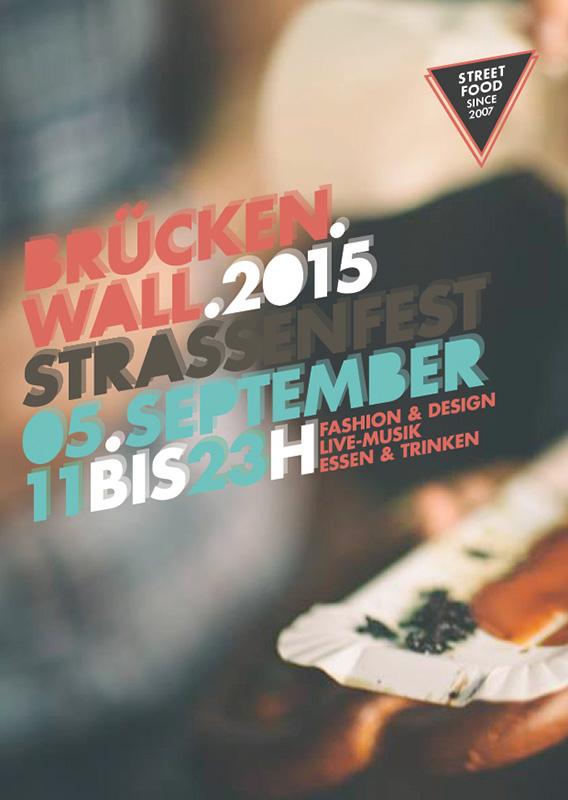 Brückenwall 2015 - Poster Straßenfest